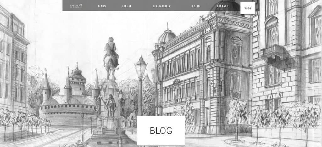 Nagłówek blogu na Fabryka Nieruchomości