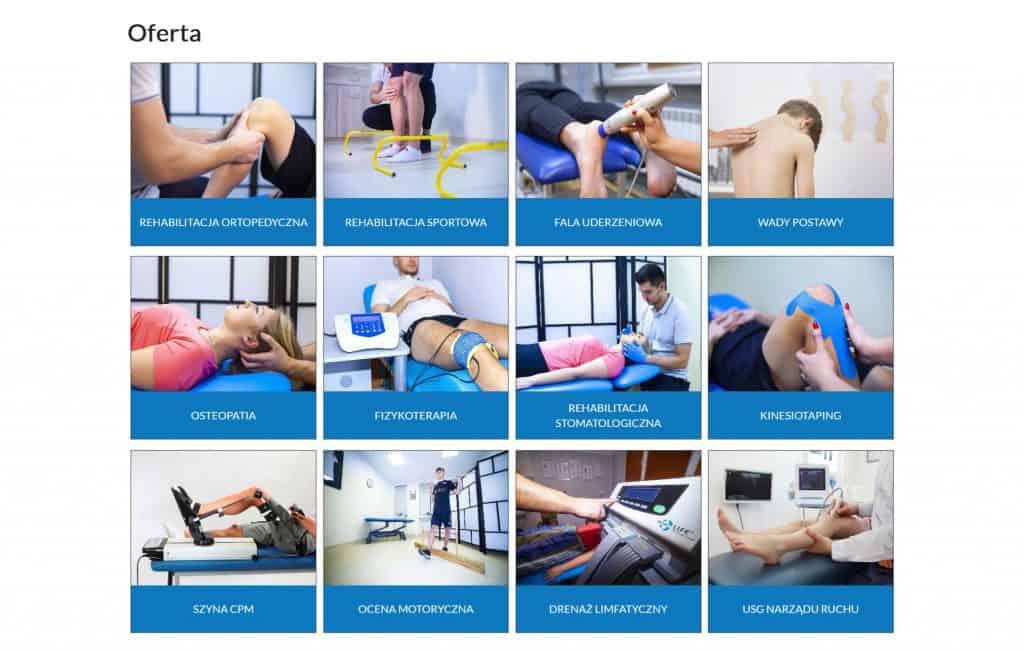 Prezentacja oferty Feniks Rehabilitacja-Fizykoterapia