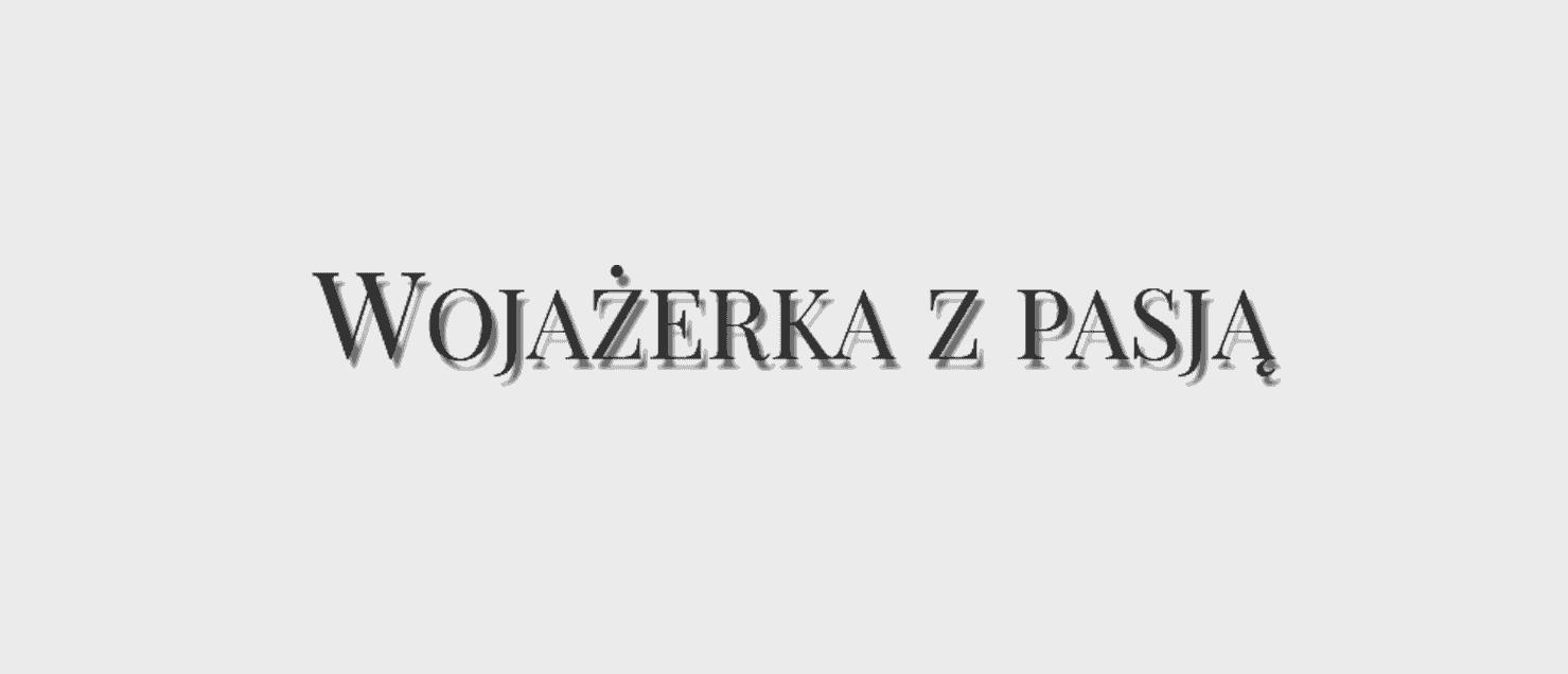 Logo Wojażerka z pasją